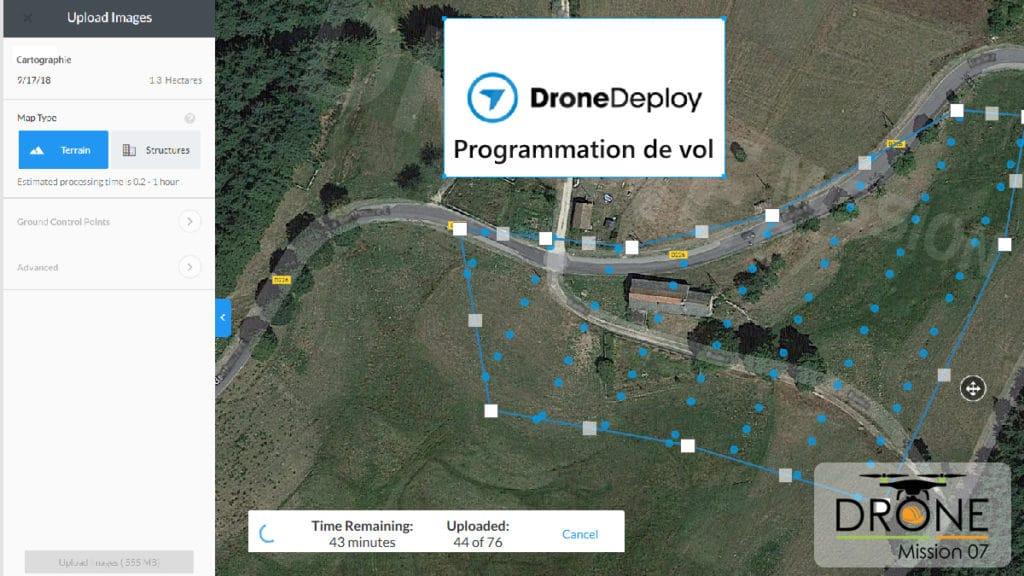 Cartographie 2D ou 3D par drone