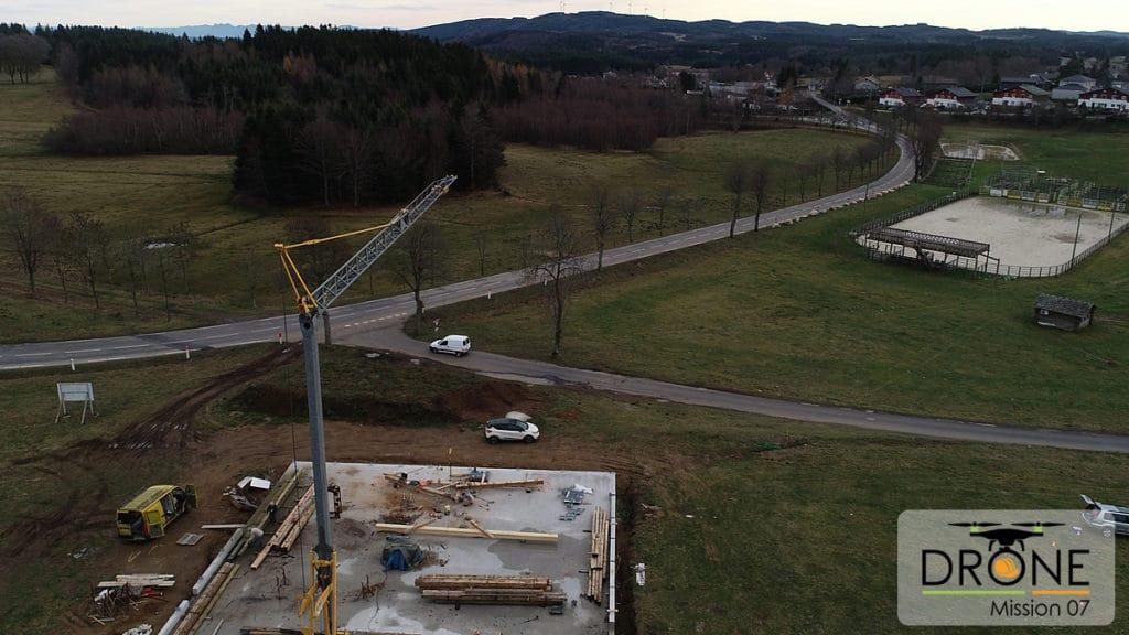 suivi de chantier par drone ou timelapse