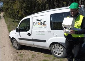 Prestataire drone Ardèche